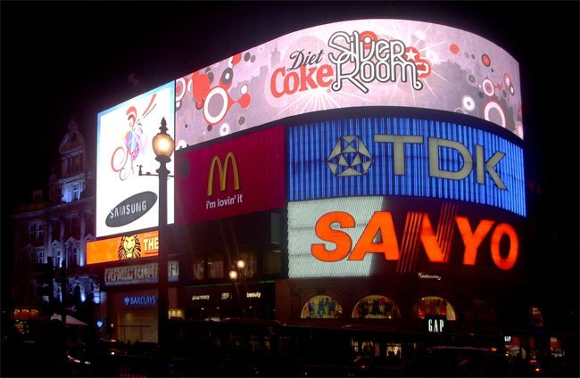 Digital Signage Piccadilly Circus London | MarTech Forum