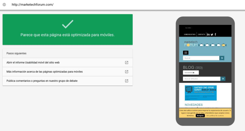Algoritmo mobile Google
