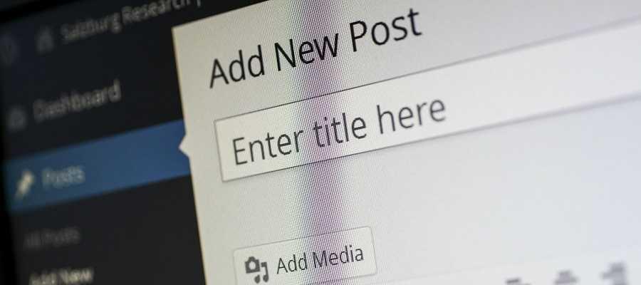 cms wordpress post escribir contenidos