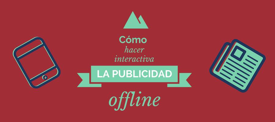 publicidad offline interactiva
