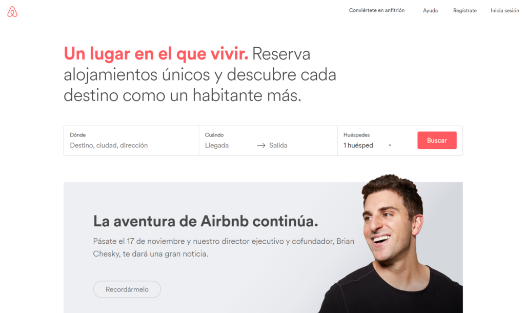 diseño invisible airbnb