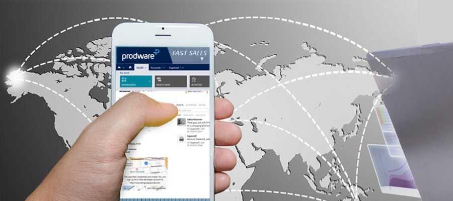 solucion de gestion comercial o CRM Fast Sales Prodware