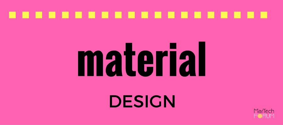 Material Design Diseño Gráfico Tendencias Google 2017 MarTech FORUM