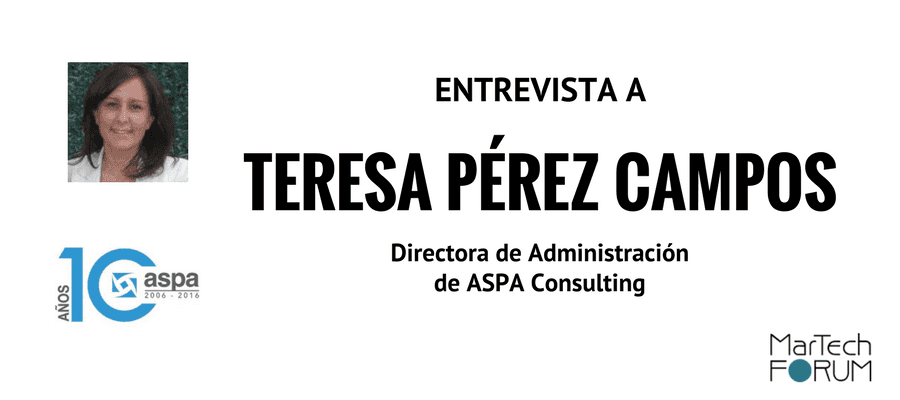 herramienta de marketing digital ASPA Consulting Teresa Perez Campos Entrevista