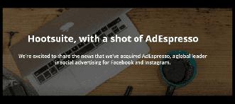 Hootsuite compró AdEspresso