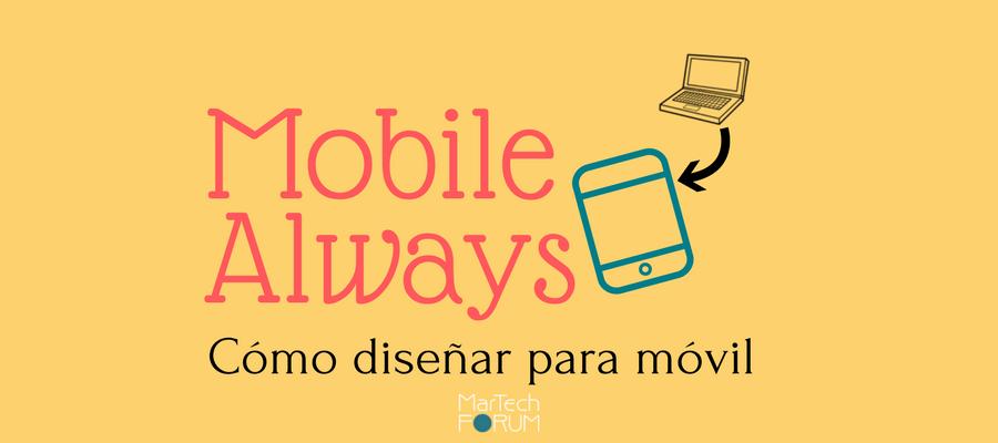 cómo diseñar para el móvil