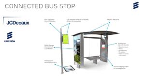connected bus stop JCDecaux Ericsson Ivan Rejon_MarTechFORUM