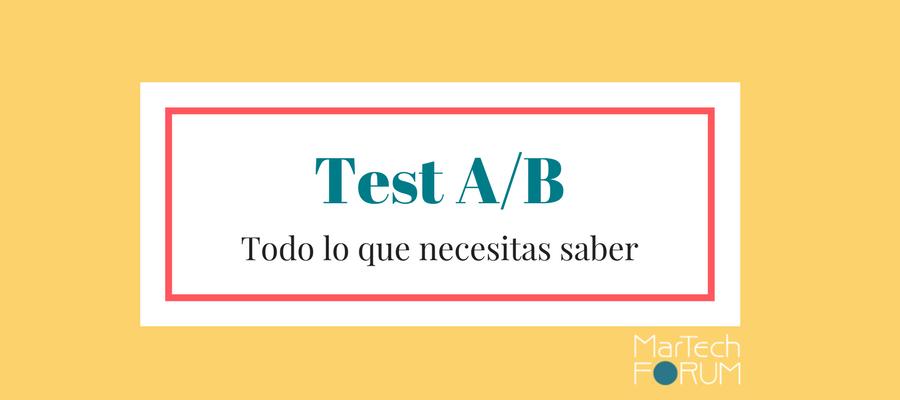 test a/b en campañas de emailing