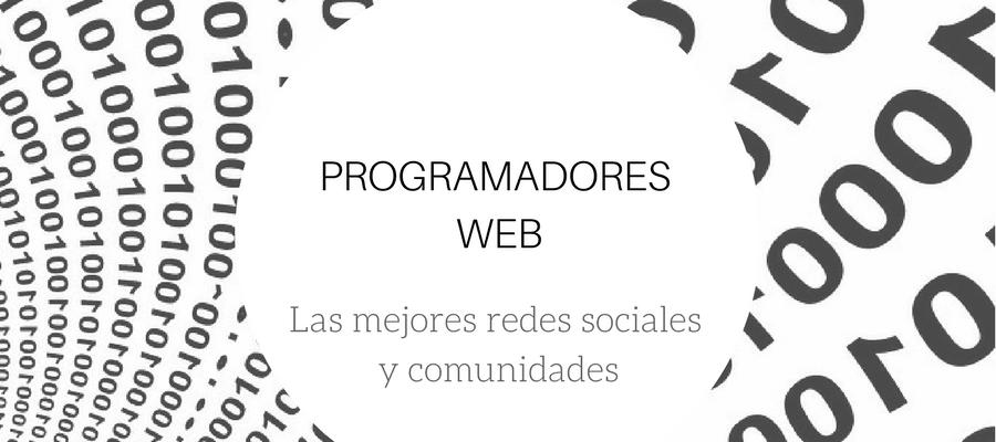 comunidades para programadores web