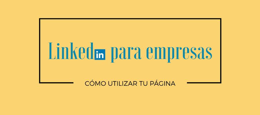 Linkedin para empresas MarTech FORUM