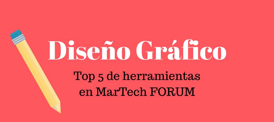 herramientas de diseño gráfico MarTech FORUM