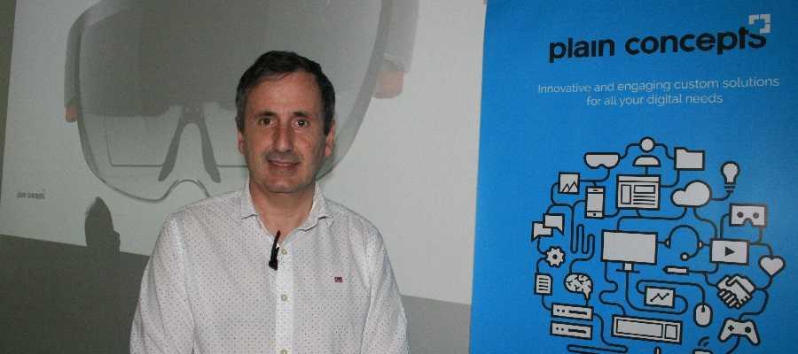 Pablo Pelaez CEO Plain Concepts Hololens Realidad Aumentada y Realidad Virtual