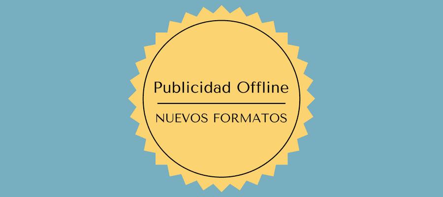 Formatos de publicidad offline MarTech FORUM