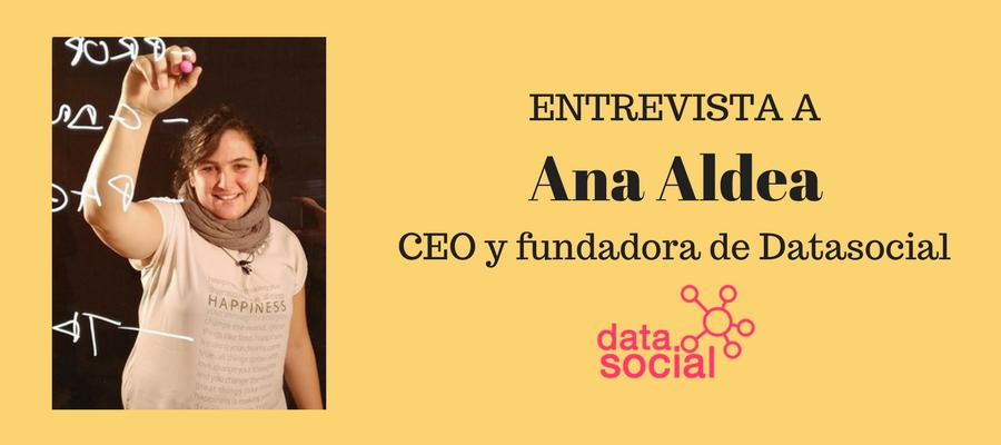 Entrevista Ana Aldea, CEO y fundadora de Datasocial MarTech FORUM