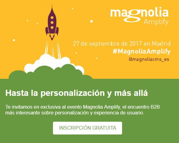 Invitación Magnolia Amplify MarTech FORUM