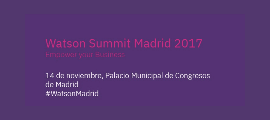 Watson Summit Madrid 2017 MarTech FORUM