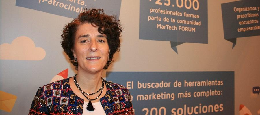 María Abad, directora de marketing de Teamleader en España y Portugal. Customer Centric | MarTech FORUM