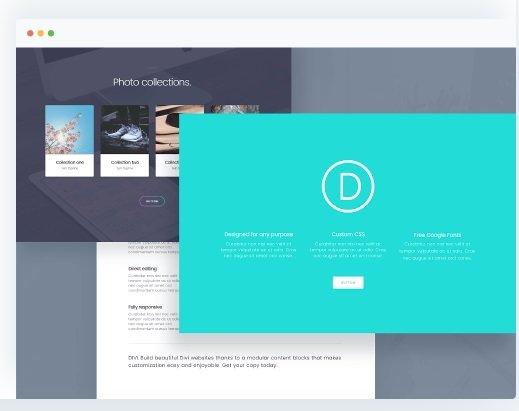 Plantilla WordPress Divi MarTech Forum
