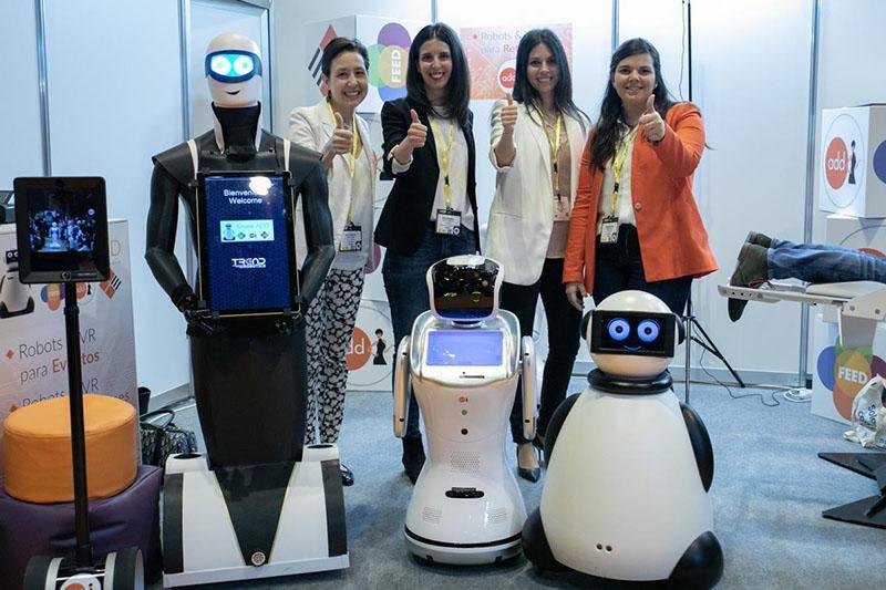 OMExpo robots | MarTech Forum