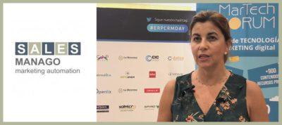 SALESmanago - Entrevista a Mar Ojeda   MarTech Forum