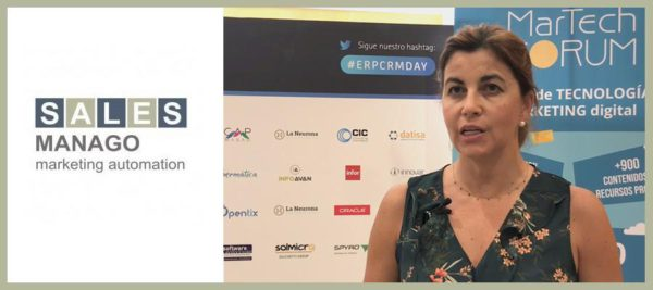 SALESmanago - Entrevista a Mar Ojeda | MarTech Forum