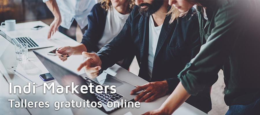 Talleres online gratuitos Indi Marketers | MarTech Forum