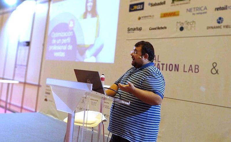 Sebas Escudero Fast Talk eShow 2018 | MarTech Forum